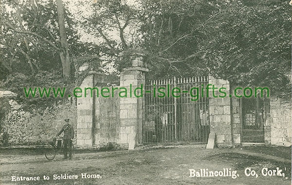 Cork - Ballincollig - Entrance to Soldiers Home