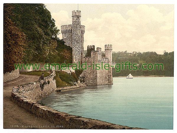 Cork City - Blackrock Castle - photochrome
