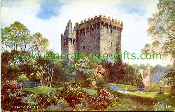 Cork - Blarney Castle in colour