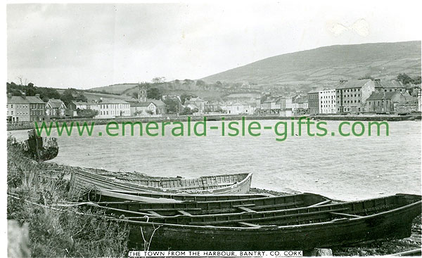 Cork - Bantry - The Town from the Harbour