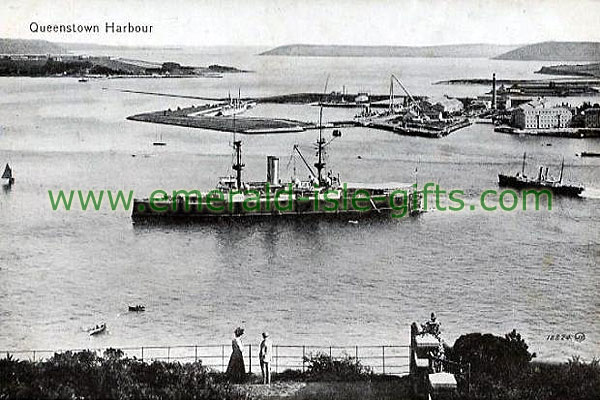 Cork - Queenstown Harbour in