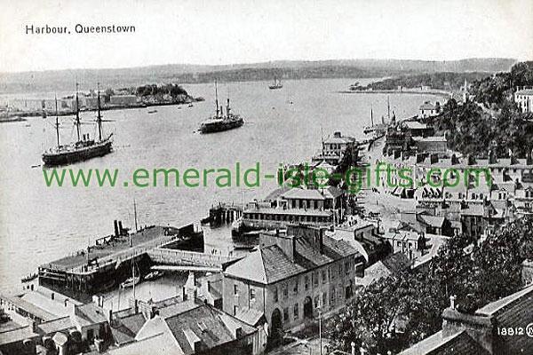 Cork - Queenstown Harbour b/w
