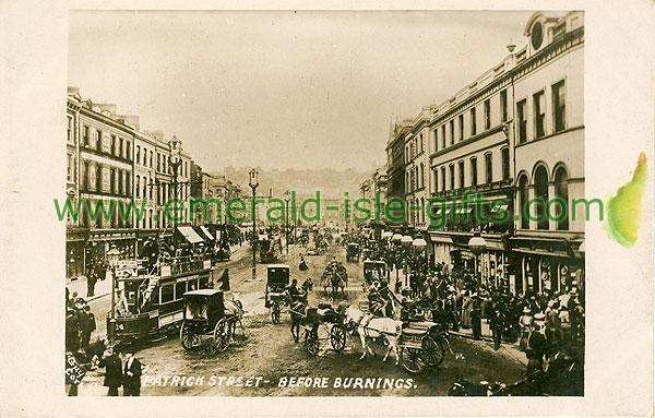 Cork - Cork City - Patrick St before burnings