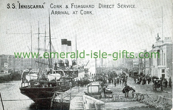 Cork - Cork City - S.S. Inniscarra arriving in Cork