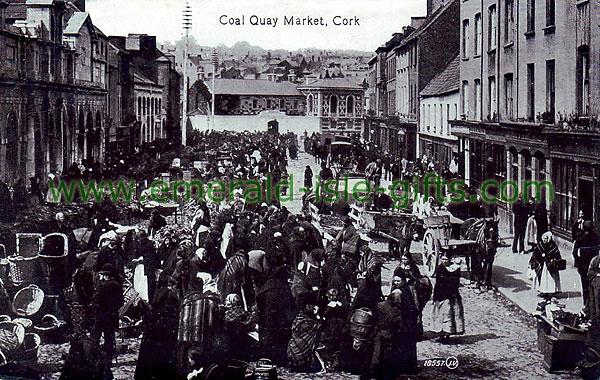 Cork City - Coal Quay Market, 1905