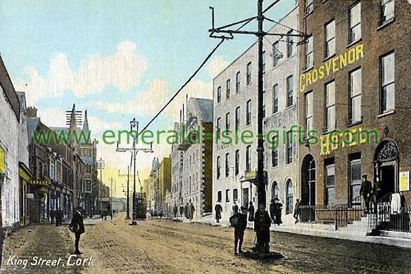 Cork City - Grosvenor Hotel, King st