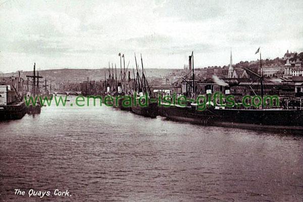 Cork City - The Quays old Irish photo