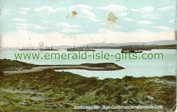 Cork - Castletownberehaven - Anchorage War Ships