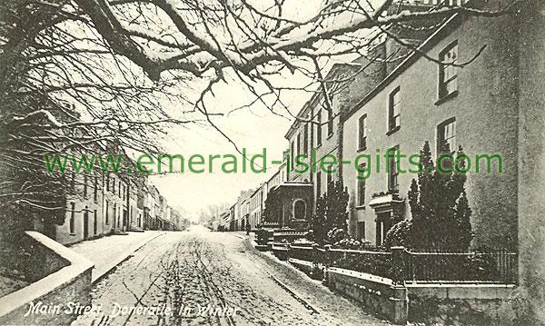 Cork - Doneraile - Main St in Winter