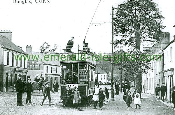 Cork - Douglas - Tram on street