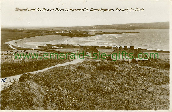 Cork - Garrettstown - Strand and Coolbawn from Laharne Hill