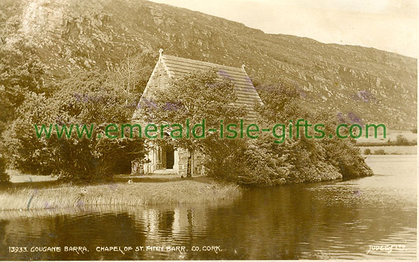 Cork - Gougane Barra - Holy Island and Church