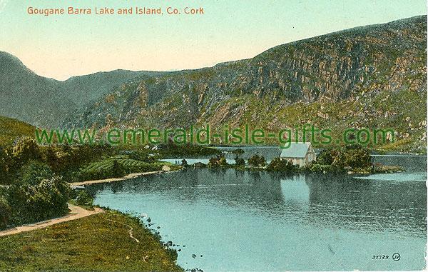 Cork - Gougane Barra - Gougane Barra Lake and Island