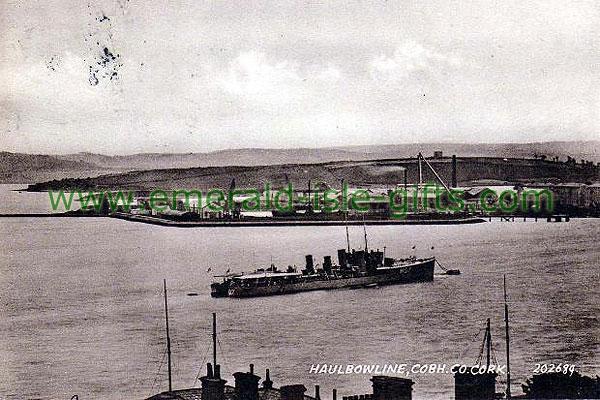 Cork - Haulbowline - old b/w Irish photo