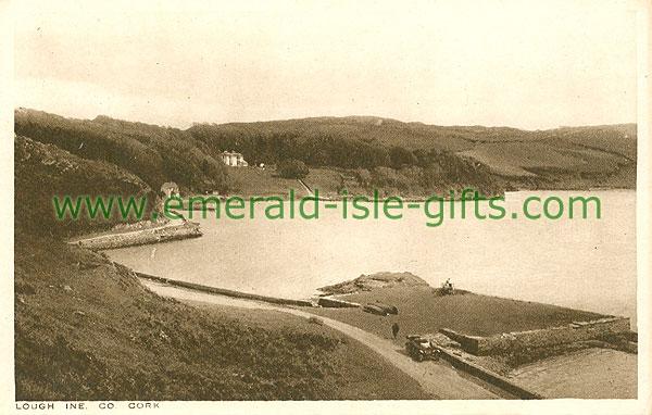 Cork - Lough Ine - Lake view