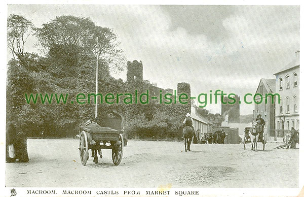 Cork - Macroom - Macroom Castle from Market Square