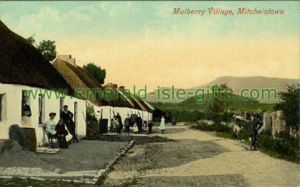 Cork - Mulberry Village old colour photo