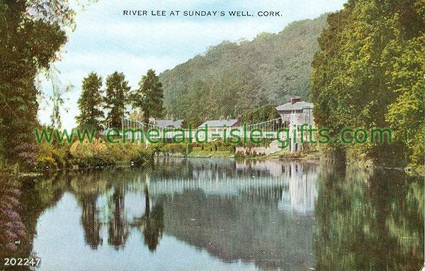 Cork - Sundays Well - River Lee At Sundays Well