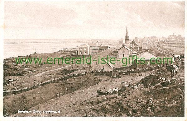 Derry - Castlerock - General View (old b/w Irish photo)