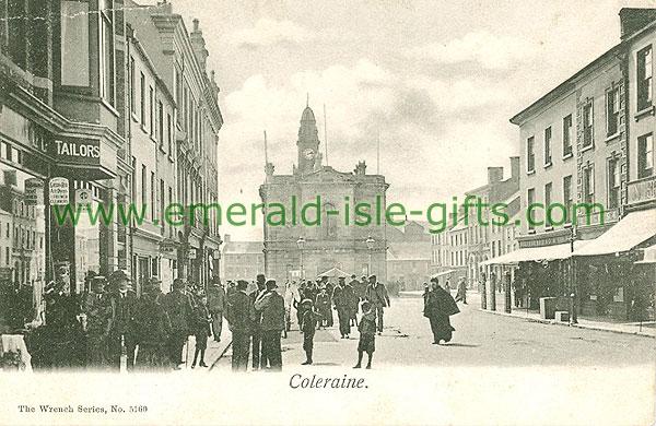 Derry - Coleraine - Town Scene