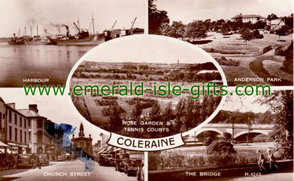 Derry - Coleraine - old Multi-View