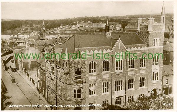 Derry - Derry City - Apprentice Boys