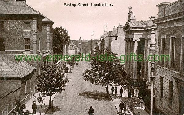 Derry - Derry City - Bishop Street