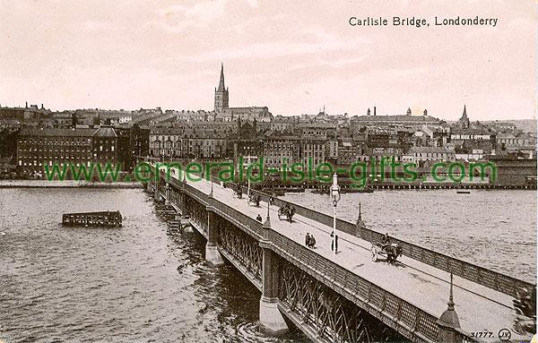 Derry - Derry City - Carlisle Bridge