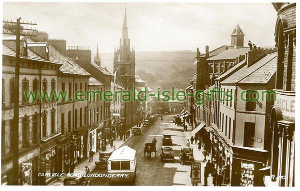 Derry - Derry City - Carlisle Road