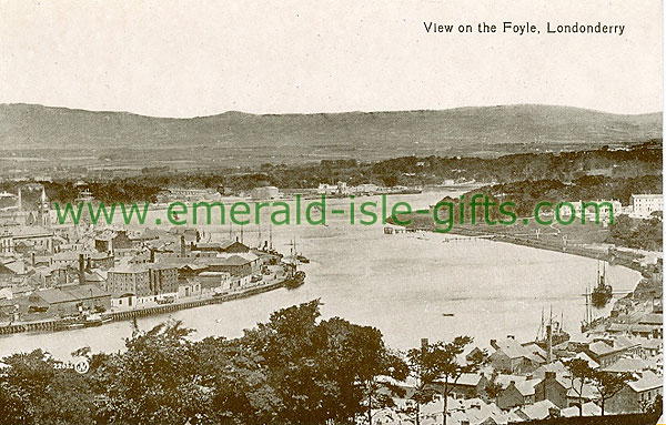Derry - Derry City - View on the Foyle