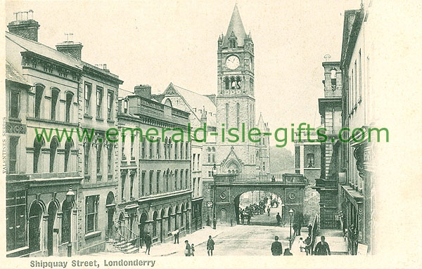Derry - Derry City - Shipquay Street