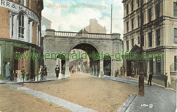 Derry - Derry City - Ferryquay Gate
