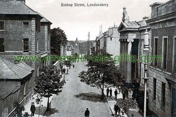 Derry - City - Bishop Street b/w