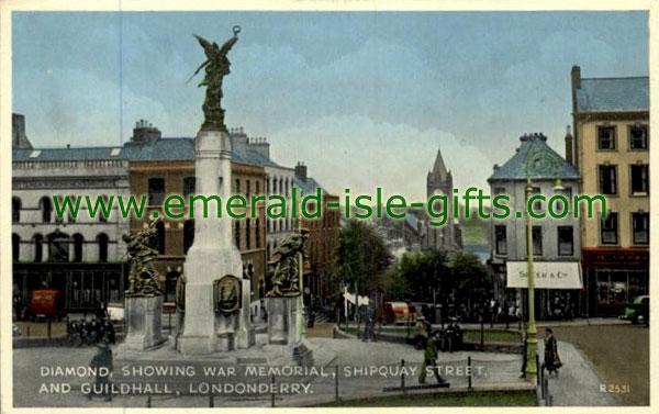 Derry City - Diamond & War Memorial