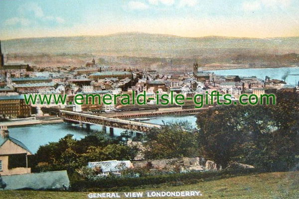 Derry City - General view - old photo