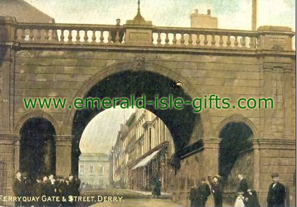 Derry City - Ferryquay Gate & Stree