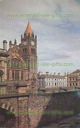 Derry City - Cathedral & Clock