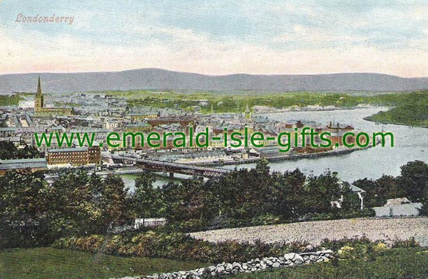 Derry City / Londonderry - General view