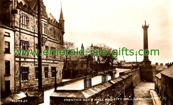Derry City - The Prencice Boys Hall