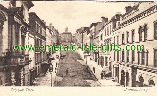 Derry City - old photo of Shipquay St