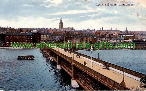Derry City - Carlisle Bridge over Foyle