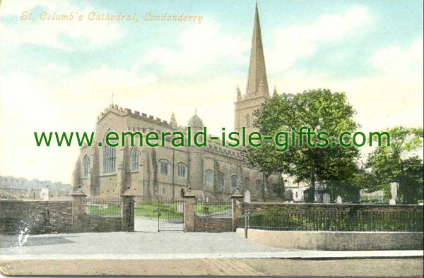 Derry City - Main Cathedral - St Columb