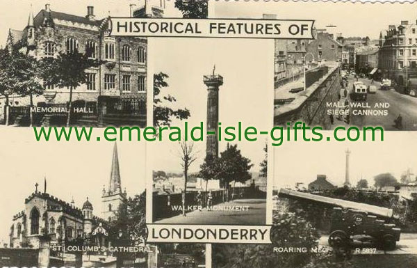 Derry City - Historical Places - Multi-view