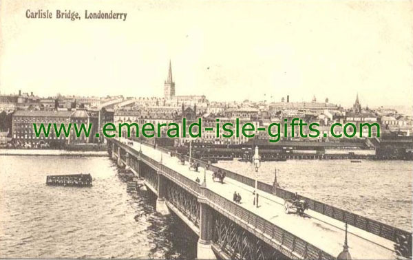 Derry City / Londonderry - Carlisle Bridge