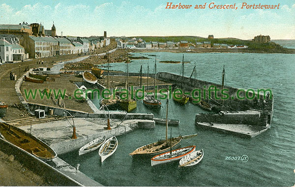 Derry - Portstewart - Harbour and Crescent