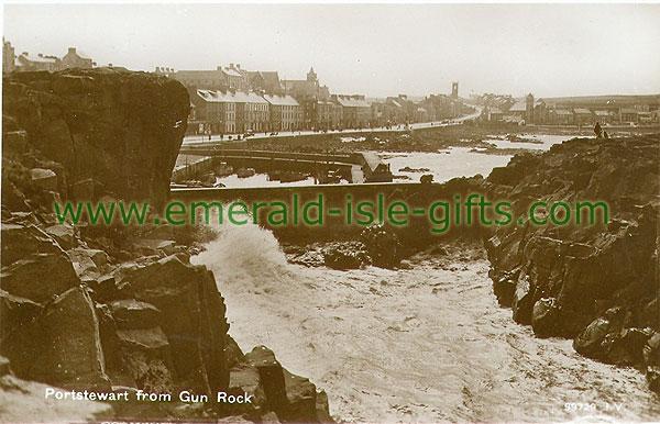 Derry - Portstewart - Gun Rock