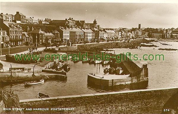 Derry - Portstewart - Main St & Harbour