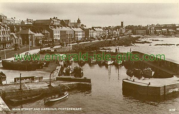 Derry - Portstewart - b/w Main St & Harbour