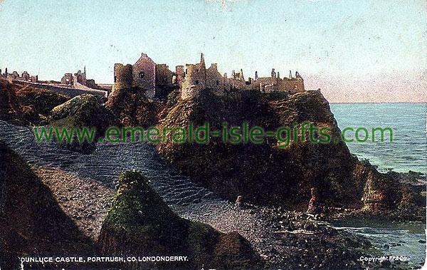 Derry - Portrush, Dunluce Caste