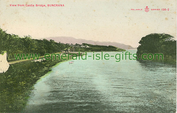 Donegal - Buncrana - View from Castle Bridge
